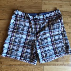 Bass Plaid Shorts NWOT